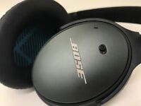 Bose QC 25 Noise Cancelling Headphones for Apple devices - Black