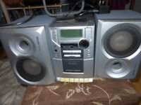 PHILIPS MC110 MICRO SYSTEM INCREDIBLE SURROUND CD RADIO CASSETTE PLAYER