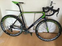 Canyon Ultimate CF SLX 9.0 Movistar Men's Road Bike Campy Super Record EPS Large