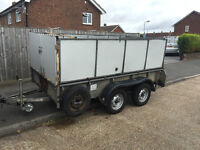 Ifor Williams Trailer, 10x5ft, 2.34 tonne, Fully Caged, Twin Axle, NO VAT
