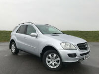 VERY LOW MILEAGE MERCEDES ML 280 CDI WITH SAT NAV AND FULL SERVICE HISTORY HPI CLEAR GREAT CAR!