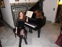 Private piano lessons at home-All grades