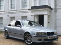 BMW E39 M5 2002 / 51 plate RARE FACELIFT SILVERSTONE BLUE