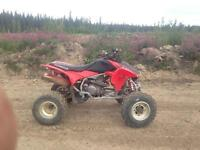 Trx 450 r 2006 sell for 2000$ or trade
