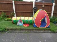 ELC Popup Play Tent & Tunnel - VGC