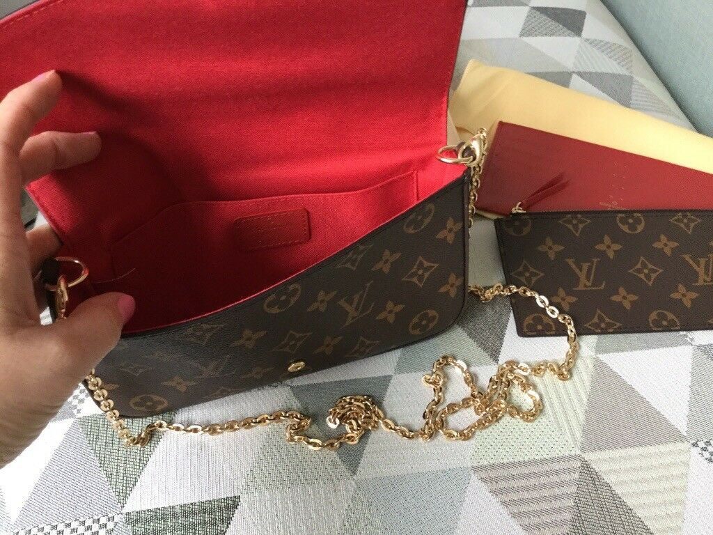 Louis Vuitton Pochette Felicie handbag cross body bag clutch a Valentines  gift New   in Bradwell, Norfolk   Gumtree dc8d9bac3c3