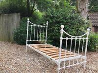 Laura Ashley single metal bed frame