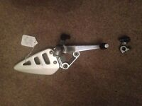 Suzuki GSXR 750 gsxr750 foot peg rearset rear set