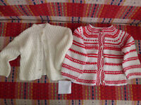 Girls Bundle of 7 Cardigans (incl. Christmas cardi) and 3 boleros/shrugs for 3-4 years.