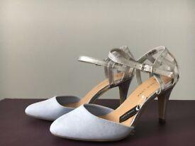 Womens pale blue shoes