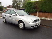 Vauxhall Vectra, 6 Speed, 2004, Silver, 1.9cdti Diesel, 12 MONTHS MOT, Full Service History.