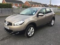 2010 NISSAN QASHQAI 1.5 DCI -- ONLY 50000 MILES WITH FULL HISTORY --