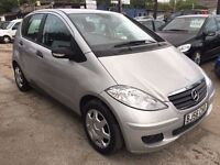 Mercedes-Benz A Class 1.5 A150 Classic 5dr£2,495 p/x welcome FREE 1 YEAR WARRANTY, NEW MOT