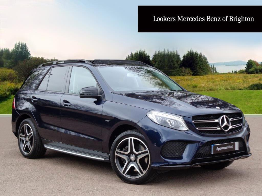 mercedes benz gle class gle 450 amg 4matic premium blue. Black Bedroom Furniture Sets. Home Design Ideas