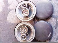 Car door speakers