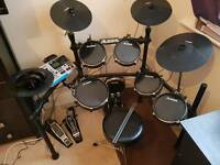 Alesis DM10 Drum Kit. With Stool, Headphones and Jack Adaptor. With box and all manuals!!