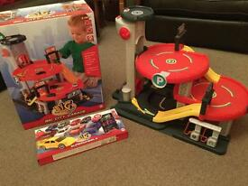 ELC Big City Toy Garage Plus 20 cars in original boxes Excellent Cond. Ideal Christmas Gift £30 ono
