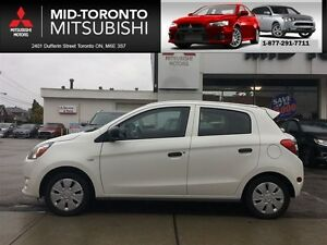2015 Mitsubishi Mirage ES auto, air conditioning. **79 b/w tax i