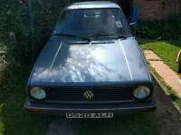VW GOLF MK2 1.8 CARB PROJECT