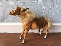 Barbie horse and bicycle