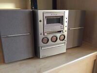 Sony Minidisc Micro Hi-Fi CMT-M100MD
