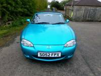 Mazda MX-5 Convertible, Two Owners, 93,000 Miles, Full History, MOT 26/4/19,TEL-07477651115