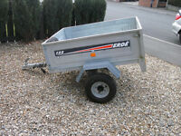 ERDE 122 TRAILER WITH SPARE WHEEL