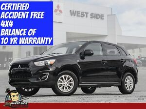 2015 Mitsubishi RVR SE-Accident Free-4WD-Only $70/Week-Zero Down