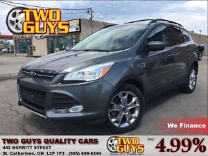 2014 Ford Escape SE LEATHER NAV PANOROOF AWD