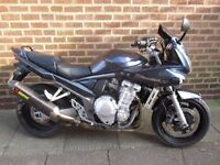 suzuki bandit 1250 gsf 2007 with full mot ready to go