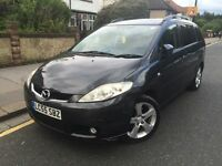 MAZDA 5 Sport 2.0 MPV LEATHER Interior *Full Service History *Low Miles Long MOT *06-Months Warranty