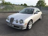 2002 jaguar s-type 2.5 v6 sport auto new mot alloys