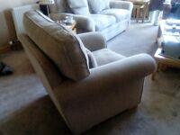 Custom made sofa and chair