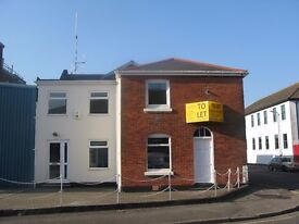 Office available to rent in Old Harbour Masters House. Would suit 1-3 people. All bills included.