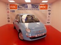 Fiat 500 POP (£30.00 ROAD TAX)FREE MOT'S AS LONG AS YOU OWN THE CAR!!! (blue) 2011