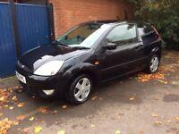 ***Urgent*** Ford Fiesta 1.25 Zetec Climate 3dr Black Manual Petrol 90185 Miles