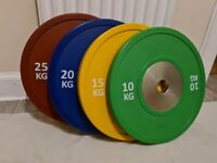Competition Olympic Bumper Plates