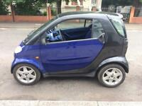 Smart car lhd 2001 clean car