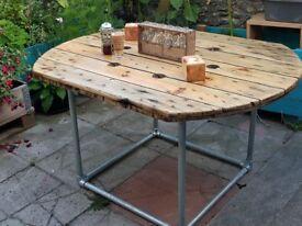 PATIO/GARDEN TABLE