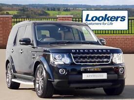 Land Rover Discovery SDV6 GRAPHITE (black) 2016-09-14