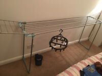 Large Foldable clothes airer + hangers addition (see pic)