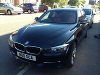 """BMW F30 320d Sport 184bhp Metallic Black with Red Leather 18"""""""