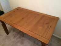 For sale pine table 6 months old, small mark on top, £50 Ono, pick up only