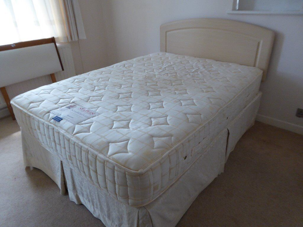 Standard Size Double Bed And Mattress For Sale In Bournemouth Dorset Gumtree