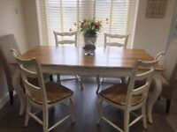Nordal Dining Table & Six Chairs