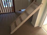 Mid sleeper bed slide