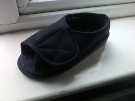 Orthopedic ladies or men's left shoe, very wide fitting