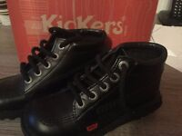 new girls kickers boots size13
