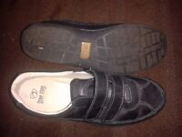 Size 7 'Hotter' Brand Trainer Style Black Shoe : WORN ONCE!