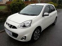 Nissan Micra 1.2 DiG-S N-Tec 5dr (pearl white) 2016
